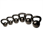 Body Solid 5-30lb Cast Kettlebell Set Singles
