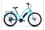 IZip E3 Simi Step-Thru Electric Bike (Turquoise)