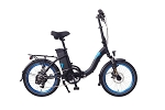 Magnum Classic Low Step FOLDING Electric Bike (Black)