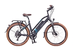 Magnum Step-Thru Metro Electric Bike - Black