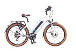 Magnum Step-Thru Metro Electric Bike - White