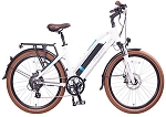 Magnum Ui6 Electric Bike - White