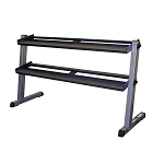 Body Solid 2 Tier Dumbbell Rack (Commercial Grade)