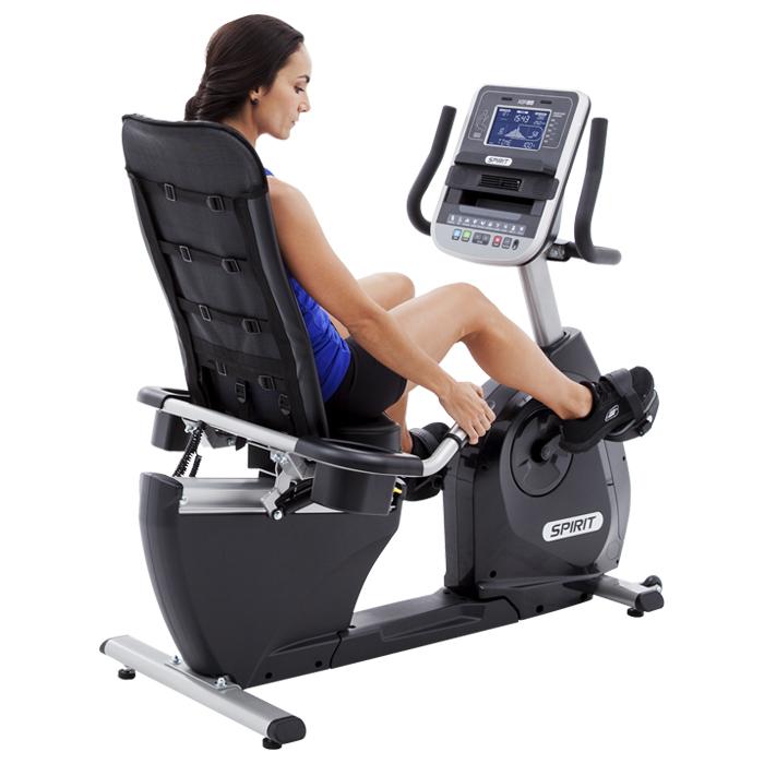 Spirit Fitness Xbr95 Commercial Recumbent Exercise Bike