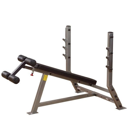 Body Solid Sdb351g Pro Clubline Olympic Decline Commercial Weight Bench By Fitness Market