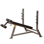 Body Solid SDB351G, Pro Clubline Olympic Decline Commercial Weight Bench