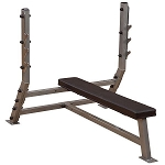 Body Solid SFB349G, Pro Clubline Flat Olympic Commercial Weight Bench