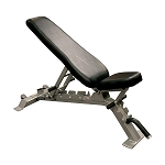 Body Solid, SFID325 Pro Clubline Flat Incline, Decline Commercial Weight Bench