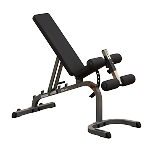Body Solid, GFID31 Flat, Incline, Decline Bench