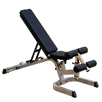 Body Solid, GFID71 Commercial Flat, Incline, Decline Bench