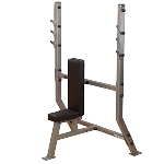 Body Solid SPB368G, Pro Clubline Shoulder Press Olympic Commercial Weight Bench