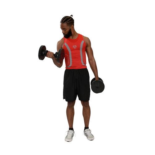 Core Home Fitness Twistlock Dumbbell Set Adjustable