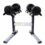 Core Home Fitness Twistlock Dumbbell Set - Adjustable Dumbbells 5-50 lbs