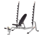 Hoist Fitness HF-5170 7 Position Bench F.I.D. Olympic Bench