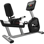 Life Fitness Integrity Series LifeCycle Commercial Recumbent Bike with LED Console