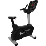 Life Fitness Integrity Series LifeCycle Commercial Upright Bike with LED Console