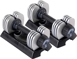Stamina Vera-Bell II Adjustable Dumbbell Set 5-25 lb,  05-2125P