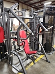 Used Matrix Commercial Plate Loaded Vertical Bench Machine