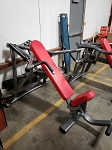 Used Matrix Commercial Plate Loaded Incline Bench Machine