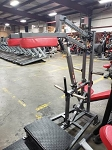Used Matrix Plate Loaded Squat Machine