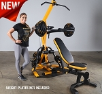 Powertec Workbench Levergym Black WB-LS (Also Available in Yellow)