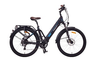 Magnum Navigator Electric Bike Black/Blue