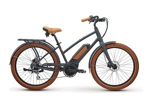 Raleigh Retroglide Royale 2.0 iE Low Step Electric Bike (Black)