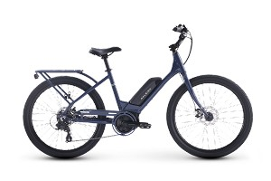 Raleigh Sprite 2.0 iE Low Step Electric Bike (Blue)