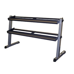 Body Solid 2 Tier Dumbbell Rack