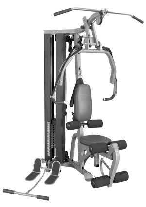 BodyCraft GL Strength Training System (Shown with optional weight shrouds)