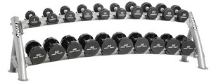 Hoist CF-3461-2 2-Tier Dumbbell Rack (Dumbbells Not Included)