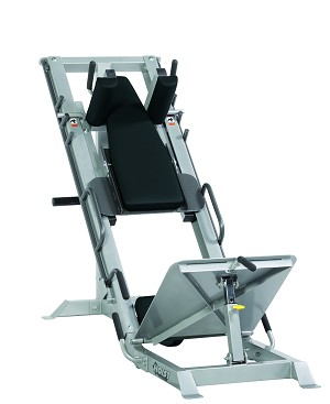 Hoist Fitness HF 4357 Hack Squat Position Front