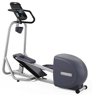 Precor EFX 221 Elliptical Trainer with adjustable elevation cross ramp