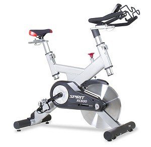 Spirit XIC600 Indoor Cycle Exercise Bike With Console