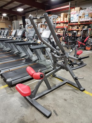 Used Matrix Plate Loaded Lat Pull Machine