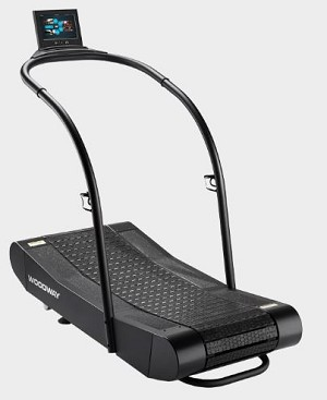 Woodway Curve Trainer with Prosmsmart Display